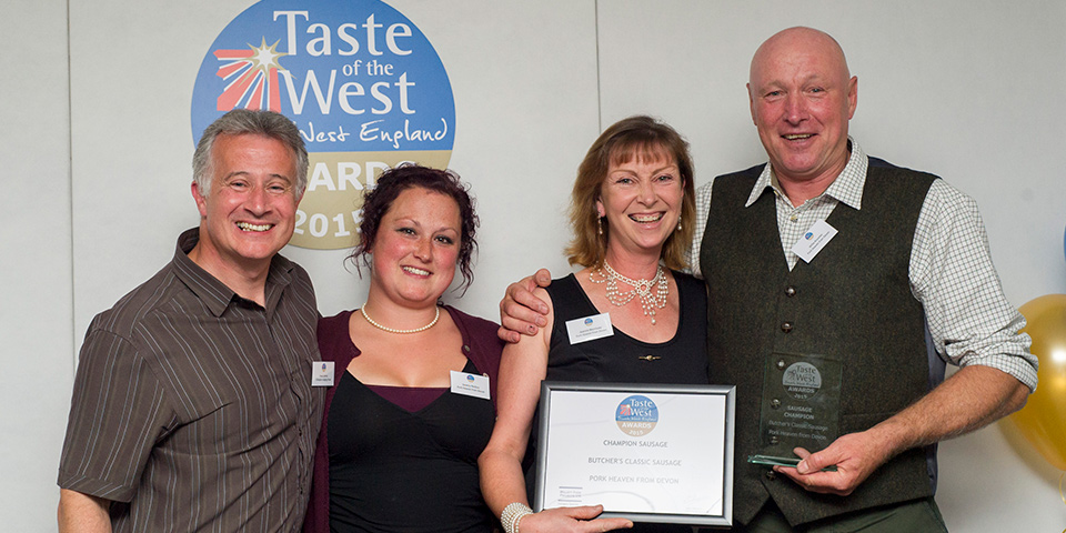 Champion Sausage award from Taste of the West